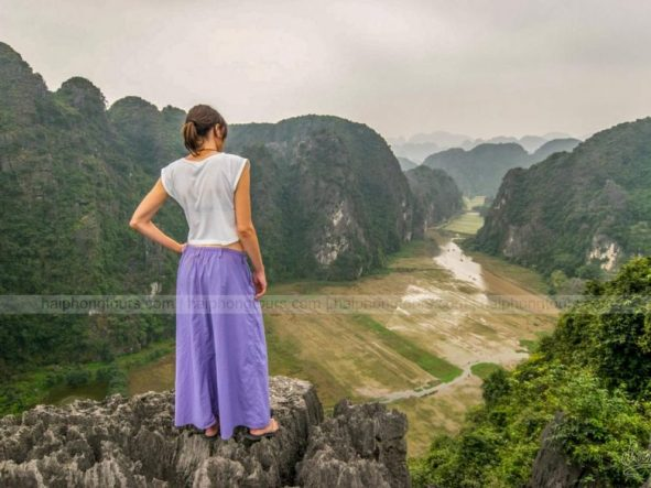 Tam Coc view from Mua mountain