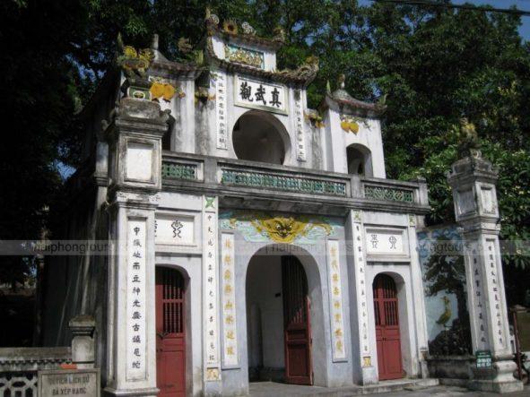 Quan Thanh pagoda Hanoi