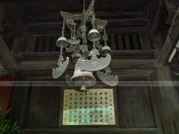 Brass bells Hang Pagoda Hai Phong