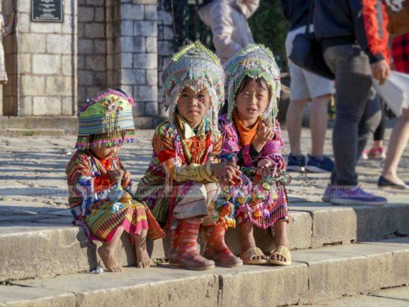 Sapa Children in town