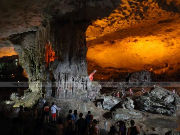 second area Sung Sot cave