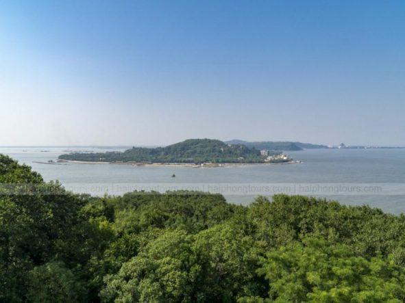 Do Son view from Hon Dau lighthouse peak