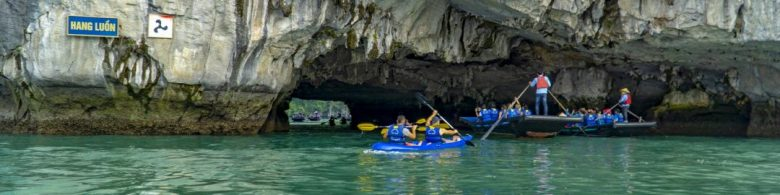 Luon cave Halong bay