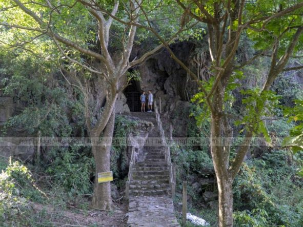 Entrance gate of cave