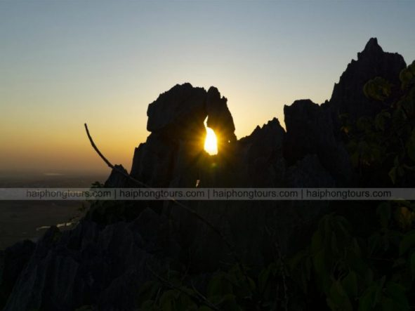 Sunshine on Elephant mountain