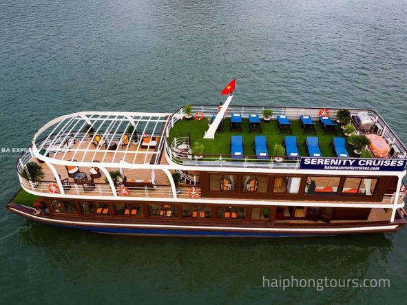 Overview of Serenity Luxury day cruise