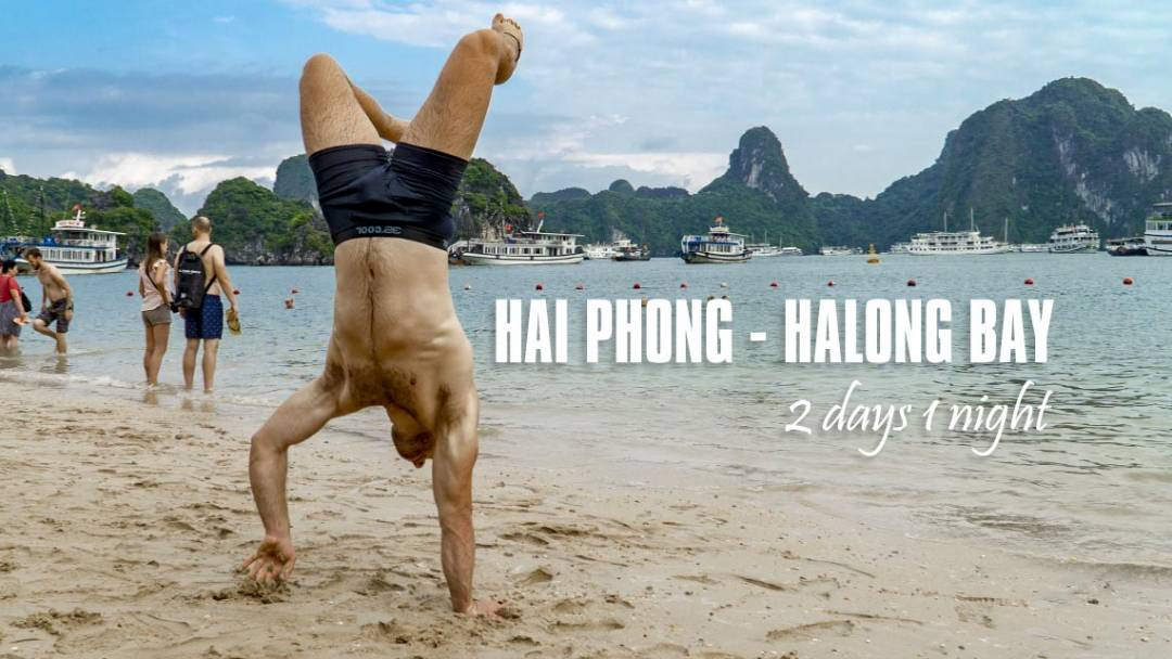 Halong bay 2 days tour promotion