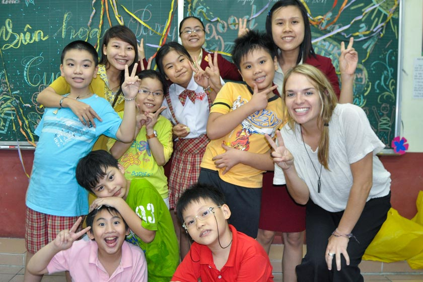 9 Best English centers in Hai Phong have foreigner teachers