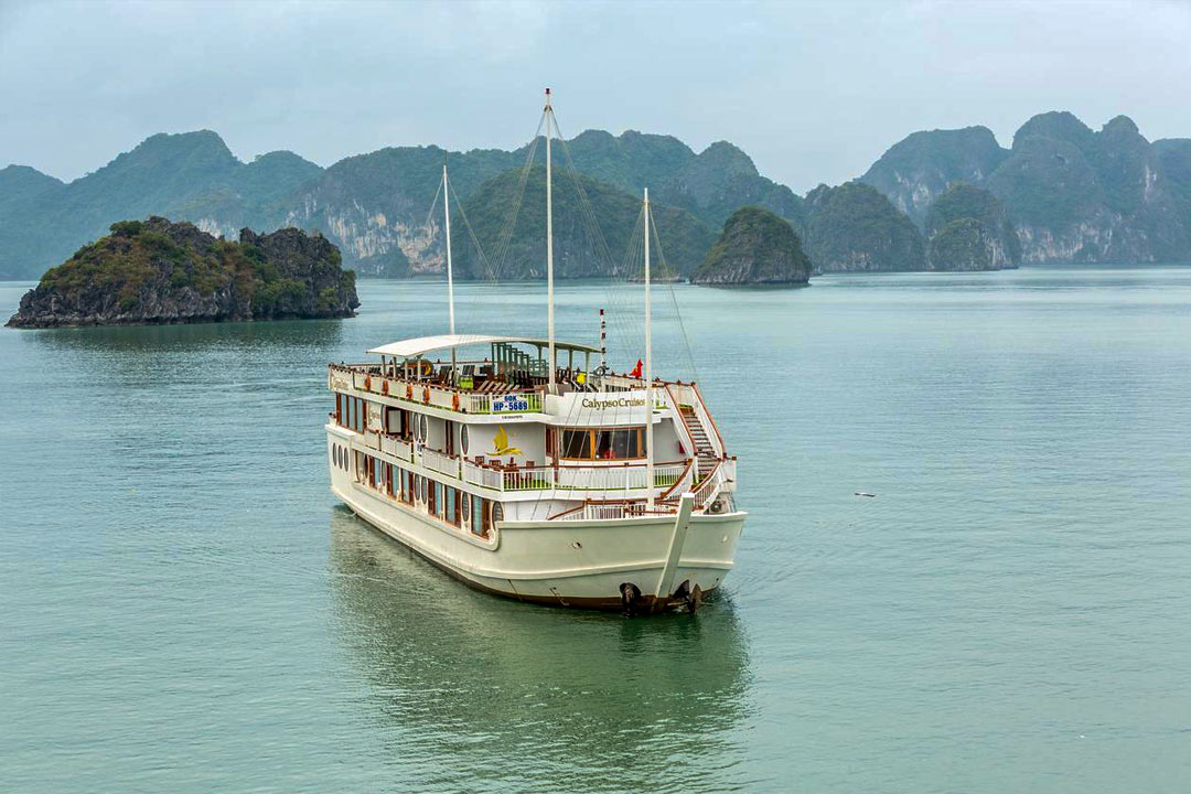 Calypso Cruise Lan Ha bay - Hai Phong Lan Ha bay 2 days