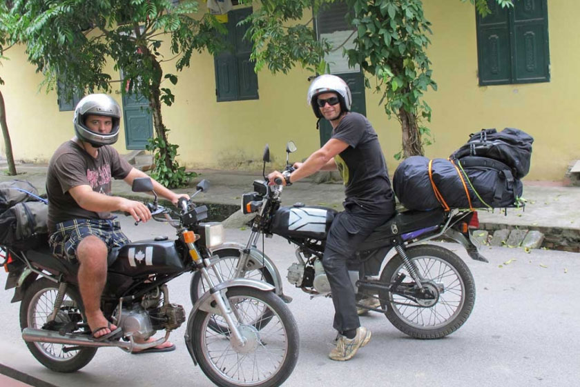 Motorbike rental Hai Phong: Top 6 places to rent scooter