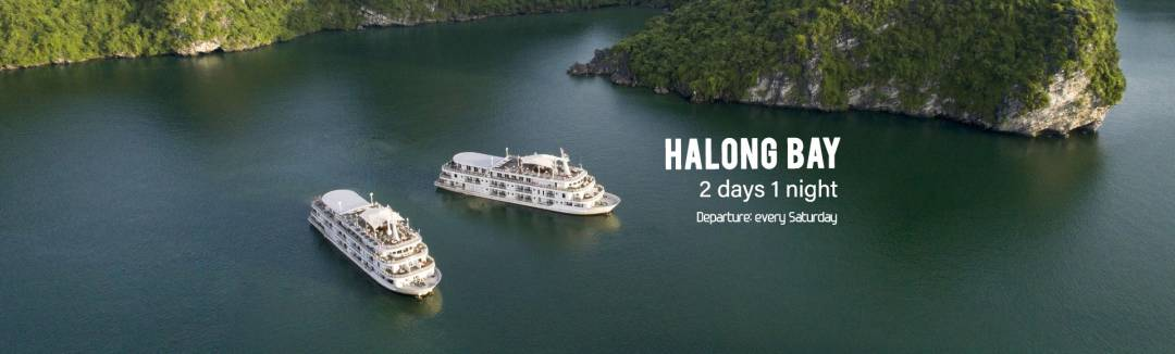 Halong bay 2 days 1 night sale off