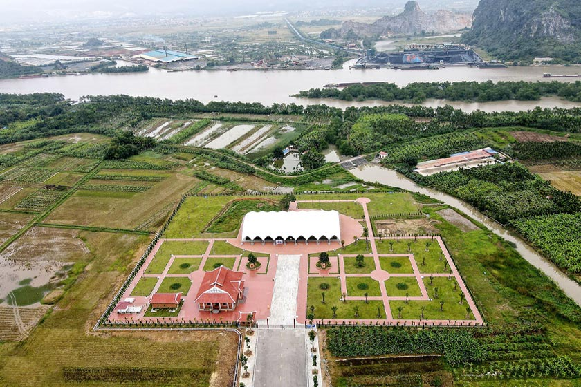 Cao Quy Stake Yard overview