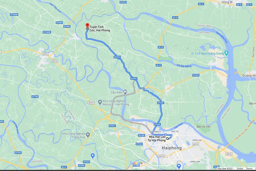 How to go to Tuyet Tinh Coc