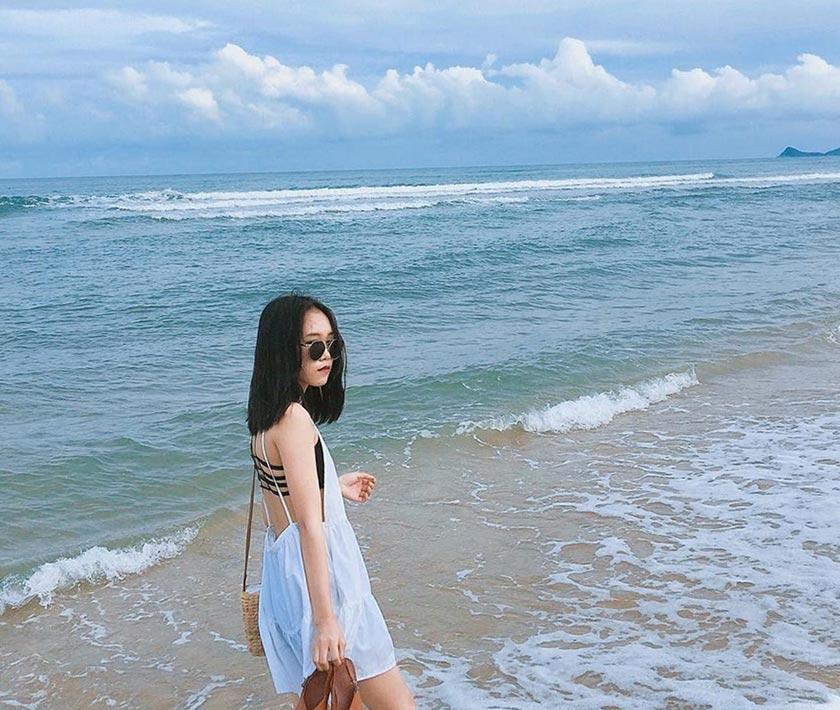 Minh Chau beach Quan Lan - travel to Quan Lan island from Haiphong