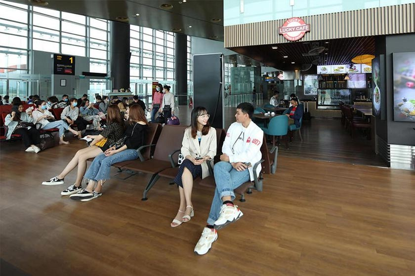 Food and Baverages Services at Van Don International airport